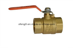 Dn40pn25 Female Brass Ball Valve pictures & photos