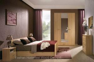 Modern Wooden Furniture Bedroom Set (HF-EY08269) pictures & photos