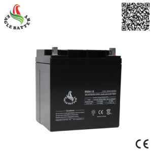 12V 24ah VRLA Sealed Lead Acid Battery for UPS pictures & photos