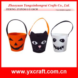 Halloween Decoration (ZY15Y241-1-2-3) Halloween Gift Box Tissue Box pictures & photos