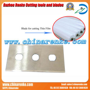 Carbide Thin Film Cutting Blade 43*22*0.2 with Double Edge pictures & photos