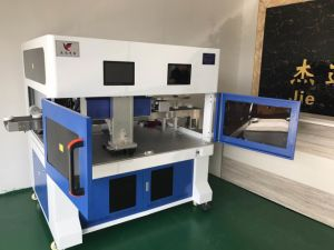 Automatic CO2 Laser Marking Engraving Machine for Wood Pec pictures & photos