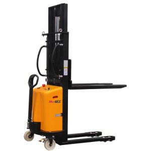 Semi Electric Hydraulic Forklift Stacker pictures & photos