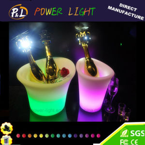 LED Rechargeable Bar Wine Cooler LED Ice Bucket pictures & photos