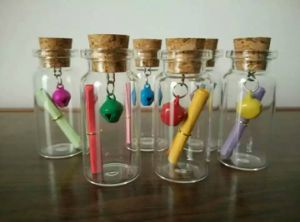 7ml Cork Bottle and Glass Vial