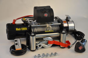 New 4X4 Electric Winch 12000lbs Steel Cable Winch for Jeep Wrangler off Road pictures & photos