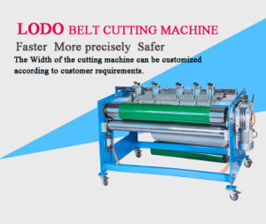 Manufacture of Custom Size Cutting Machine Slitter Equipment for Conveyor Belt pictures & photos