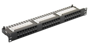 CAT6 48 Ports Patch Panel pictures & photos