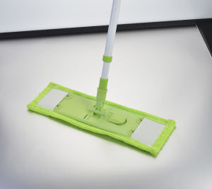 Telescopic Handle Chenille Microfiber Flat Cleaning Mop (1001) pictures & photos