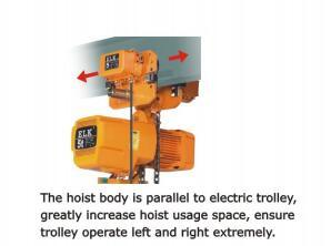 Elk 2ton Electric Chain Hoist with Slip Clutch pictures & photos