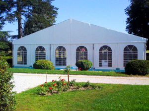 White PVC Fabric Marquee Party Flame-Retardant Pavilion for 400 People pictures & photos