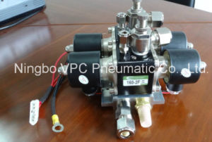 8 Valve Air Suspension Valve Block with 1/2 Ports Gauge Port pictures & photos