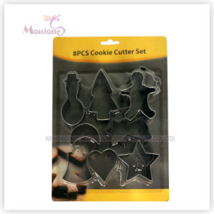Bakeware Stainless Steel Biscuit/Cookie Cutter (set of 8) pictures & photos