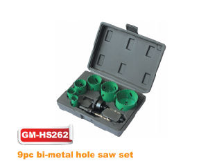 9PCS Bi-Metal Hole Saw Set (GM-HS262) pictures & photos
