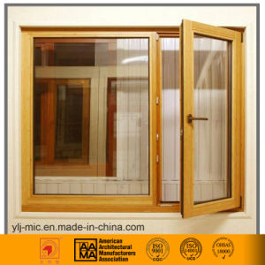 Aluminum Casement Window (Thermal Break & Wood Grain Style) pictures & photos