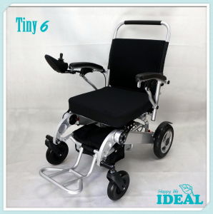 Tiny 6 Foldable and Portable Power Wheelchair pictures & photos