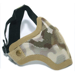 Airsoft Tactical V1 Strike Mesh Half Face Mask pictures & photos