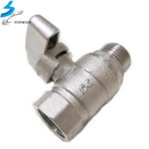 Precision CNC Water Gas Pipe Stainless Steel Valve Accessories pictures & photos
