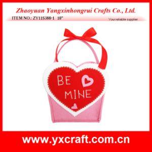 Valentine Decoration (ZY11S388-1) Felt Love Bag Decoration pictures & photos