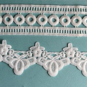 Factory Direct Fancy Embroidered and Lace Strips pictures & photos