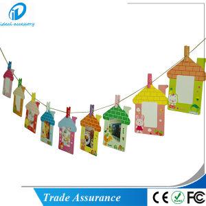 9PCS/Set Fashion House Pattern Fujifilm Instax Mini Film Photo Decor Frame pictures & photos
