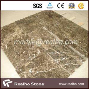 Wholesale Honey Comb Marble Veneer/Dark Emperador Marble Composite Tile pictures & photos