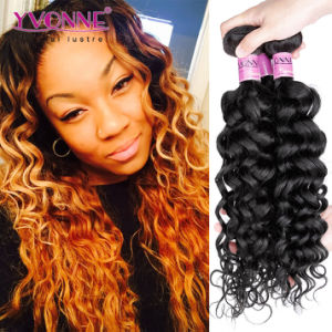 Fashion Italian Curly Human Hair Weave, Brazilian Virgin Hair Extension pictures & photos