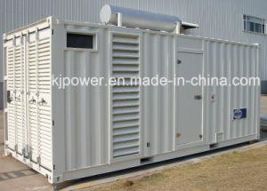 Silent Power Generator with Cummins Diesel Engine (1000KW) pictures & photos