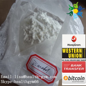 Raw Muscle Building Steroid Powders 72-63-9 Methandienon Dianabol