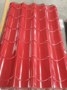 Red Color Galvanized Steel Roofing Sheets pictures & photos