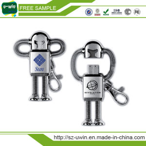 8GB Metal Robot USB Flash Disks with 16GB pictures & photos