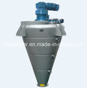 Dimple Jacket Conical Screw Mixer pictures & photos