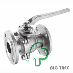 Stainless Steel 2PC Ball Valve Flanged End with Direct Mounting Pad pictures & photos