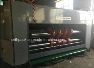 Leadedge feeding flexo printing slotting die-cutting machine pictures & photos
