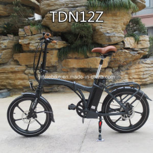 Creative Folding Ebike 20inch Mini E-Bicycle Electric Bicycle E-Bike Electric Bike (TDN12Z) pictures & photos