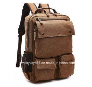Men Canvas Travel Outdoor Leisure Tablet PC iPad Bag (CY3418) pictures & photos