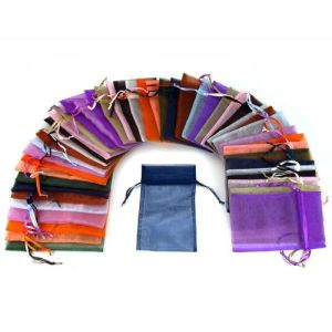 Colorful Wedding Organza Pouches Many Colors Available pictures & photos