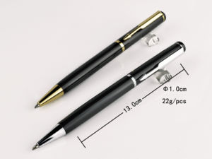 Luxury Business Metal Ball Pen with Gold, Silver Clip Tc1019b pictures & photos