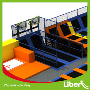 Indoor Adult Fitness Trampoline Park with Baskteball Dunks for Sale pictures & photos