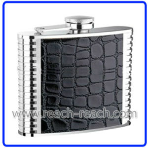 7oz Travel Stainless Steel Hip Flask (R-HF019) pictures & photos