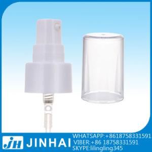 18/410 Treatment Cosmetic Plastic Cream Pump with Round Full Cap pictures & photos