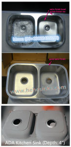 Sink, Kitchen Sink, Stainless Steel Sink with Cupc Certification, Handmade Sink, 4631A pictures & photos