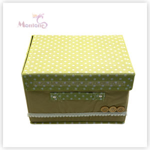 Home Non Woven Fabric Foldable Storage Box for Clothing Toys pictures & photos