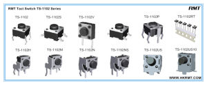China Tact Switch (TS-1102) pictures & photos