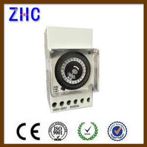 Sul181b Daily Weekly Quartz DIN Serie Electrical Mechanical Timer pictures & photos