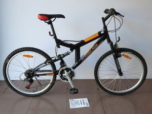 "24"" Steel Frame Mountain Bike (CZ2405) pictures & photos"