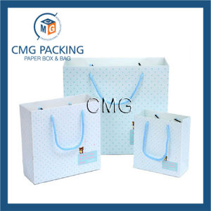New Luxury Shopping Paper Bag for Cloth (DM-GPBB-087) pictures & photos