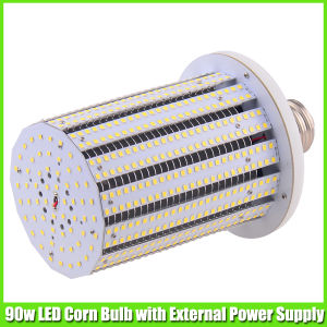 parking lot lighting 90 watt led corn bulb with cool white pictures. Black Bedroom Furniture Sets. Home Design Ideas