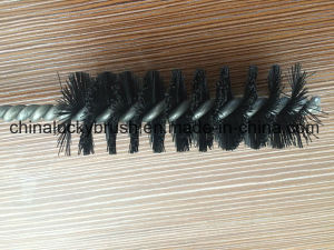 Wooden Handle Black Nylon Wire Cleaning Brush (YY-606) pictures & photos