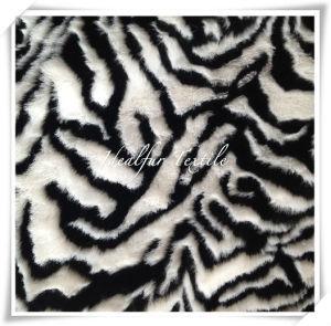 Jacquard Zebra Artificial Fur /Faux Fur pictures & photos